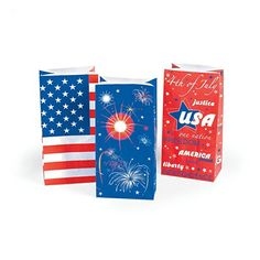 $4.29 & FREE SHIP ~ Paper Patriotic USA Flag Bags - 1 Dozen - 4th of July Independance Day Fun Express http://www.amazon.com/dp/B00KTFHYTG/ref=cm_sw_r_pi_dp_XbxKvb1MRBT25