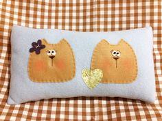 Almofada de soft com gatinhos