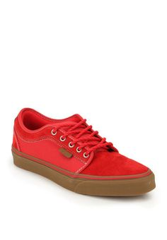Vans Chukka Low Red Sneakers