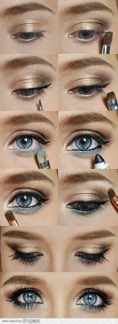 Makeup for Blue Eyes #eye_makeup