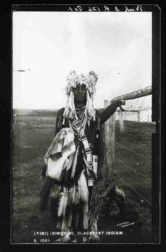 Immoyimi - Blackfoot - circa 1885