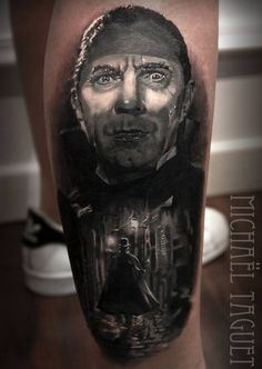 Count Dracula Tattoo