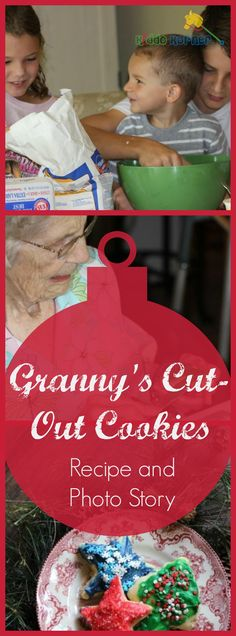 Granny's Cut-Out Cookies Recipe and Photo Story
