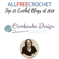 Oombawka Design Crochet Blog is in the Top 25 Crochet Blogs of 2018 at All Free Crochet. See all 25 Crochet Blogs right here! Crochet Blogs, All Free Crochet, Crochet Projects, Crochet Patterns, Messages, Tops, Design, Crochet Tutorials