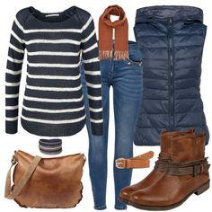 Herbstfarben Damen Outfit - Komplettes Herbst-Outfit günstig kaufen | FrauenOut... - Businessmode - #Businessmode #Damen #FrauenOut #günstig #Herbstfarben #HerbstOutfit #kaufen #Komplettes #Outfit Komplette Outfits, Stylish Outfits, Fashion Outfits, Womens Fashion, Woman Outfits, Stylish Clothes, Casual Clothes, Latest Fashion, Fashion Tips