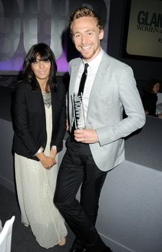 Glamour - Man of the Year - Tom Hiddleston... Oooooh Tom, those tight black pants reveal a lot... Oooh my... XD <3