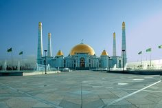 Kipchak-Mosque / Turkmenistan / Ashgabat 01
