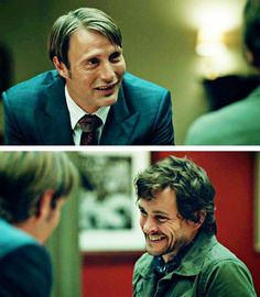 Hannibal/Mads Mikkelsen and Hugh Dancy