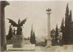 Izgled trsatske gradine kad je stup s napoleonskim orlom donesen od okupacijskih talijanskih ardita...i Fernkornov zmaj.