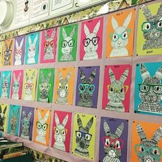 Kunst Grundschule - Easter Art Projects for Kids - Beste Art Pins Spring Art Projects, Easter Projects, School Art Projects, Spring Crafts, Projects For Kids, Art Activities, Easter Activities, Easter Arts And Crafts, 4th Grade Art