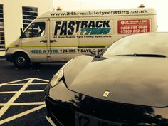 We specialise in 24 hour mobile tyre fitting for cars, prestige & performance, 4×4's and light commercial vehicles, covering all of London and up to a 50 mile radius outside of London.