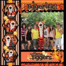 Tigger - #293 - MouseScrappers - Disney Scrapbooking Gallery