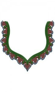 New Neck Embroidery Design 13979