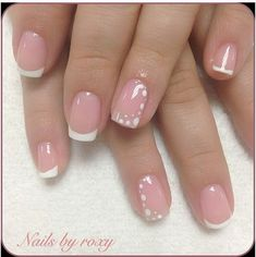 New American French Pedicure Wedding Nails Ideas French Acrylic Nails, French Manicure Nails, French Tip Nails, Acrylic Nail Designs, Diy Nails, Cute Nails, Nail Art Designs, American French Manicure, American Manicure Nails