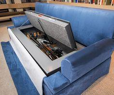 Sofa-Bunker a prueba de balas...Y ríete de los ladrones!