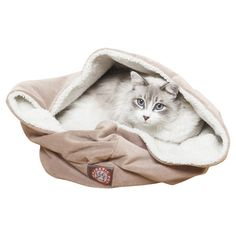 Burrow Pet Bed. my cats would love this! They are always trying to bury themselves when taking a nap.