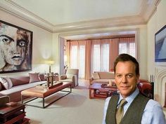 Kiefer Sutherland sells West Village digs.