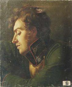 blastedheath:    Anonymous, Soldat de l'Empire [Soldier of the Empire], 19th century. Oil on canvas, 64.5 x 54cm. Musée Max Claudet, Salins-les-Bains.