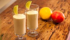 Indian Mango and Cashew Yoghurt Lassi