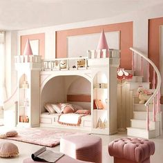 Castle Kids Bedroom Ideas and Designs For Girls