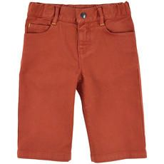 Billybandit - Short en sergé de coton stretch - Rouille - 102532