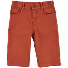 Billybandit - Short en sergé de coton stretch - Rouille - 102532