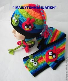 Comprar kit de brillo a rayas - Angry Birds . Crochet Kids Scarf, Crochet Owl Hat, Crochet Cat Pattern, Baby Girl Crochet, Crochet Scarves, Crochet For Kids, Crochet Patterns, Hat Patterns, Fingerless Gloves Crochet Pattern