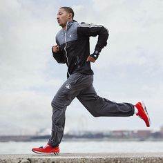 Pretty awesome. Derrick Rose could sell anything. Even running shoes. #drose #adidas