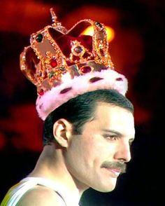 Freddie Mercury, my favorite singer! Miss him.