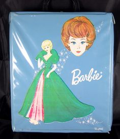 1963 Vintage BARBIE Ponytail carry CASE Trunk