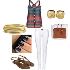 summer time, created by jenna-scott-self on Polyvore