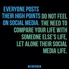 Don't compare.