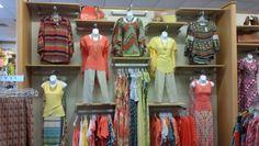 Tropical fusion dressy wall #catofashions
