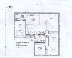 1000 ideas about plan maison en l on pinterest plan for Plan de maison en l