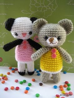 Crochet amigurumi pattern.