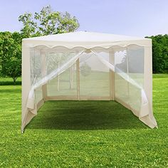 karls gazebo with curtains 300x300 cm ikea deck. Black Bedroom Furniture Sets. Home Design Ideas