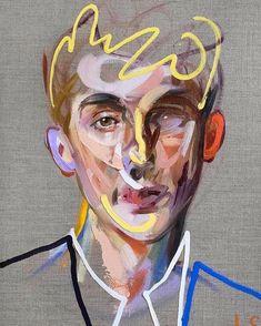 Art Auctions for Drawings – Viral Gossip Abstract Portrait, Portrait Art, Portraits, Art Drawings, Art Sketches, La Art, Art Auction, Art Sketchbook, Figurative Art