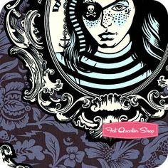 Nightshade fabric by Tula Pink at Fat Quarter Shop