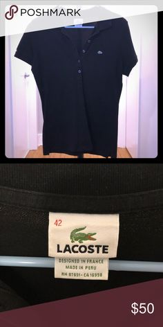 416217d4 Lacoste Polo Shirt Lacoste polo collared shirt. Good used condition. Lacoste  Tops