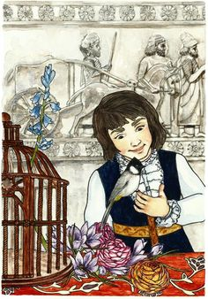 Mr. Nightingale, written by Ghazal Omid. Illustrated by Kristina Muñoz