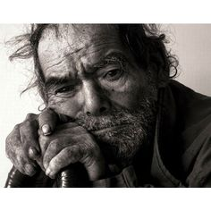 Expressive people portraits in black-and-white (28 photos) - Xaxor via Polyvore