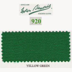 Kit tapis Simonis 920 7ft UK Yellow Green - 80,00 €  #Jeux