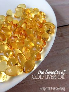 If there's one supplement I recommend for every family – it's cod liver oil. The benefits of taking cod liver oil are amazing, it's almost like a magic elixir!