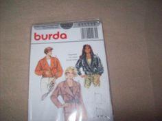 Burda Jacket, burda Sewing Pattern 4282 by vintagecitypast on Etsy