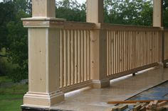 how to cover our deck posts