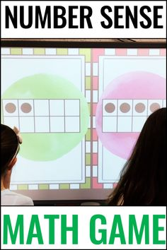Preschool, kinder, & first graders will love this Number Sense Game {Counting & Subitizing Knockout}. This pack includes 5 games that cover counting in base, fingers, dice, dominoes, & ten frames. This quick-paced game also builds character by emphasizing teamwork & good sportsmanship for preK, K, & 1st graders. Grab a FREE sample today to see if your students love this exciting review in a center or as a whole class activity. Your students will be begging for more! #NumberSense #Kindergarten Telling Time Activities, Smart Board Activities, First Grade Activities, Subtraction Activities, Phonics Activities, Math Games For Kids, Fun Math, Classroom Games, Classroom Ideas