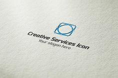 Creative Services Icon Logo by BdThemes on @creativemarket