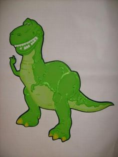 El valiente Rex de Toy Story Toy Story, Dinosaur Stuffed Animal, Crafts, Fictional Characters, Animals, Frozen, Ideas, Crafts For Kids, Patrones