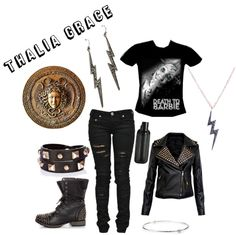 """Thalia Grace"" by merahzinnia on Polyvore"
