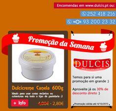 PROMOÇÃO DA SEMANA :) 30% de desconto direto no Dulcicreme Canela 600g :) http://www.dulcis.pt/product/dulcicreme-canela-600g/… Só até 4/10/2015 :)